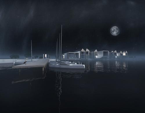 """Giorgia Liut, Ermes Povoledo, Tommaso Iaiza — """"Laguna Landscape"""". Riqualificazione dell'isola del Buon Castello a Sottomarina"""