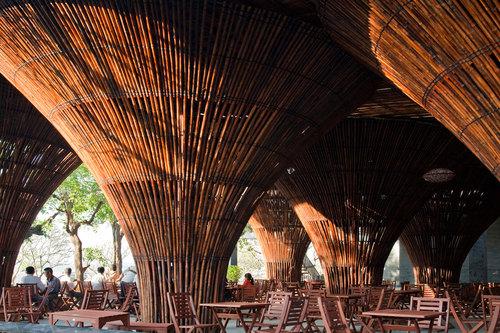 Vo Trong Nghia Architects — Kontum Indochine Café