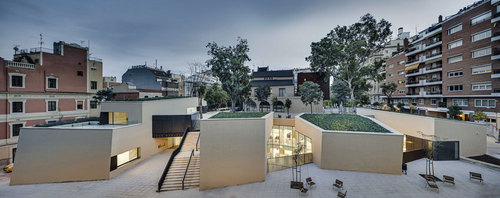 BCQ arquitectura barcelona — Library Joan Maragall
