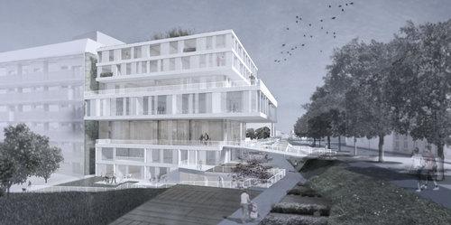 BUSarchitektur — MGC Plaza und Multifunktionsgebäude MGC West