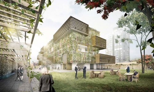 MoDus Architects — German Embassy and Chancellery