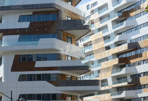 Residenze Citylife Milano by Zaha Hadid and Patrik Schumacher