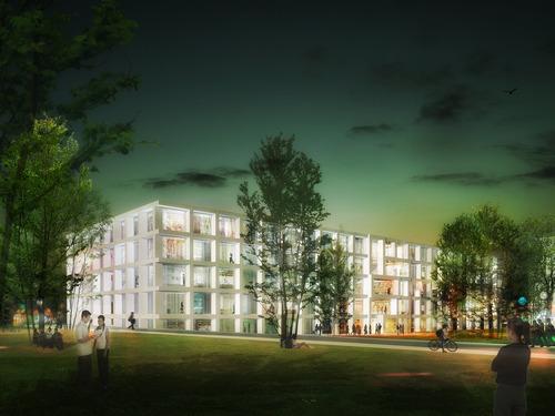 KAAN Architecten — Institut des Sciences Moléculaires d'Orsay