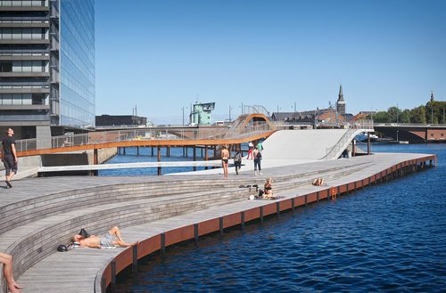 JDS/JULIEN DE SMEDT ARCHITECTS, Urban Agency — Kalvebod Waves