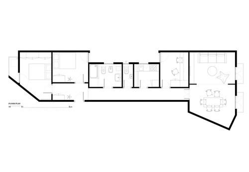 Eva cotman apartment renovation in eixample barcelona for Apartment renovation plans