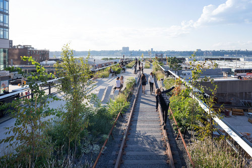 James Corner / Field Operations, DILLER SCOFIDIO + RENFRO — HIGH LINE, SECTION THREE