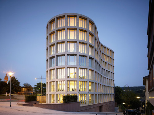 Michele De Lucchi — 'Il Tronco' Office Building