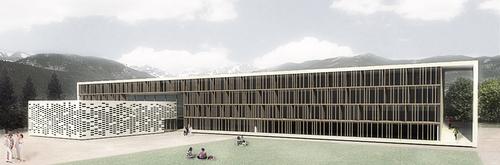Laboratorio di architettura convitto per alunni con una for Laboratorio con alloggi