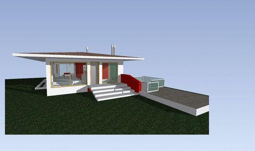 Ar k studiodesign progetto di casa in campagna riga - Progetto casa campagna ...