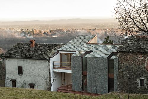 deamicisarchitetti — Casa di mezza montagna