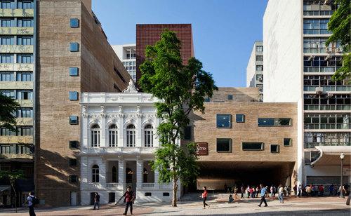 Brasil arquitetura — Praça das Artes