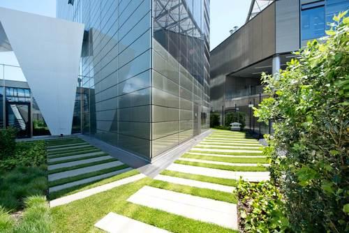 B SCAPE architettura del paesaggio — Centro direzionale e commerciale