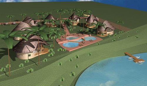 Domenico Mariani, Gotthard Kerschbaumer — Residence in Diani Beach  Kenya