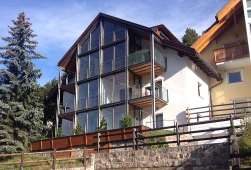 """Domenico Mariani, Gotthard Kerschbaumer — Recupero energetico con ampliamento e realizzazione di un """"Wintergarten"""""""