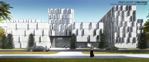 Osaühing Kauss Arhitektuur — Läbilõige