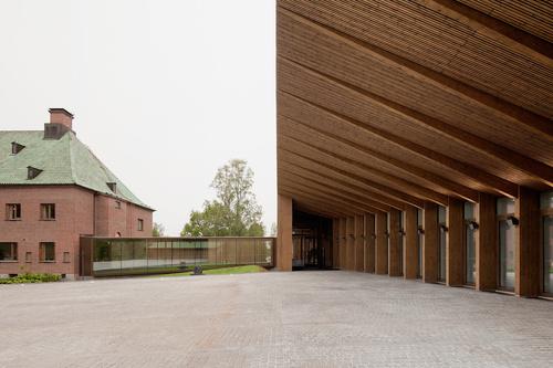 MX_SI architectural studio — Serlachius Museum Gösta Extension