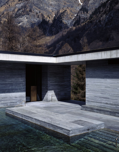 Architekturbüro Peter Zumthor — Therme Vals