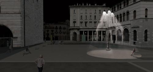 Emilio Caravatti, sergio fumagalli — Riqualificazione di Piazza Grimoldi - via Pretorio/Piazza Roma. Como