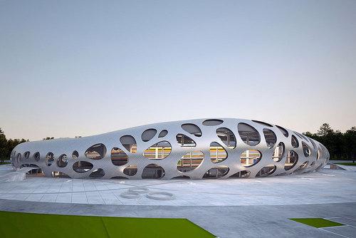 Ofis Arhitekti — Football Stadium Arena Borisov