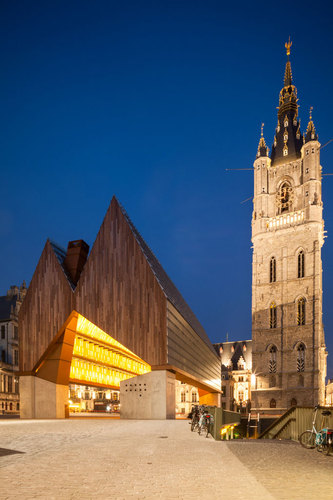 Robbrecht En Daem Architecten, Marie-josé Van Hee — Market Hall