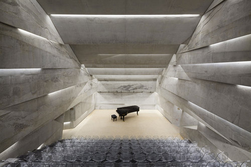 Peter Haimerl Architektur — Konzerthaus Blaibach