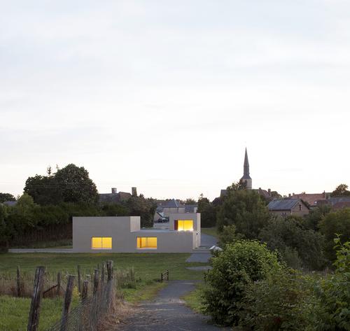 Boidot & Robin architects — Rural community hall