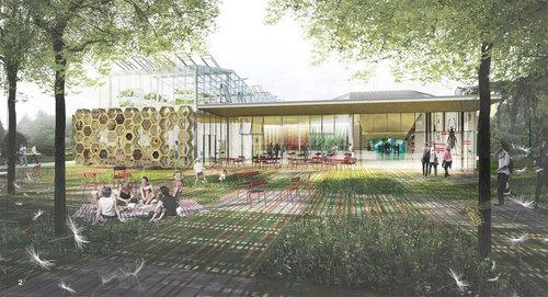 in situ atelier d'architecture — La mue de l'insectarium