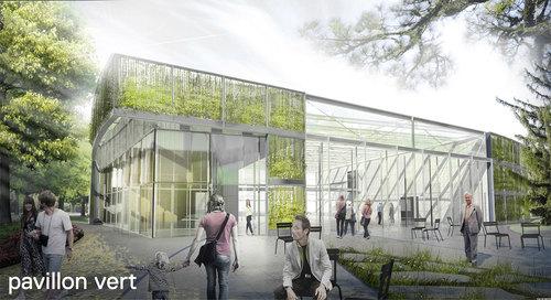 in situ atelier d'architecture — Pavillon vert