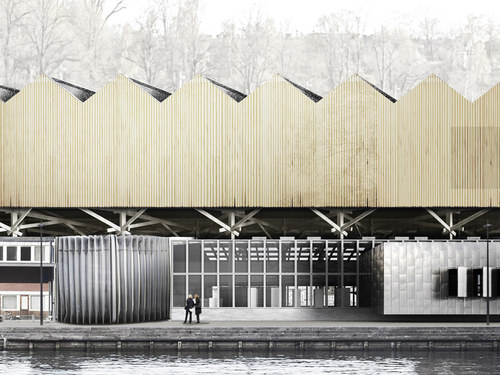 Agps Architecture — Two-in-one museum