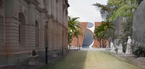 Steven Holl Architects — MUMBAI CITY MUSEUM