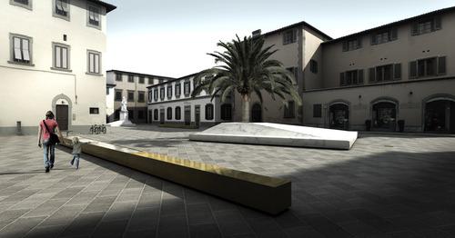 Andrea Dami, Tommaso Clement — Riqualificazione di Piazza dello Spirito Santo a Pistoia
