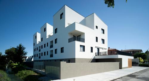 Paolo Piccinin — Edifici residenziali a Udine