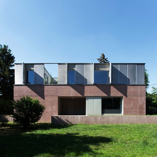 ZSK Architects — Private house Budapest III