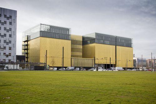 Gautier+Conquet Architectes — Les nouvelles archives départementale du Rhône