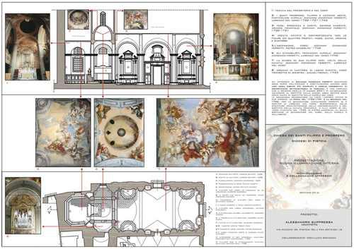 Alessandro Suppressa — Chiesa dei SS.Filippo e Prospero a Pistoia Realizzazione della nuova illuminazione interna