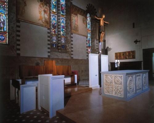 Alessandro Suppressa — Restauro della copertura lignea, degli affreschi, delle decorazioni e delle tinteggiature interne della Chiesa di San Giovanni Forcivitas, Pistoia