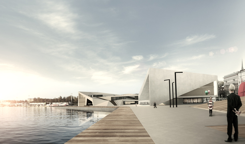Mirko Geraci, Fulvia Patinella, Daniele Parlavecchio, Roberta Randazzo, Silvia Tusa, Rossella Minore —  Guggenheim Helsinki Design Competition.