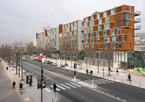 BABIN+RENAUD — PARIS MONTMARTRE MIXED USE