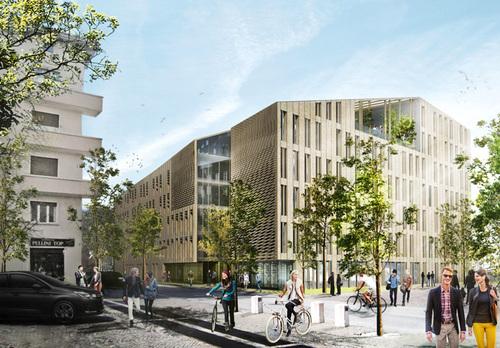 C.F. Møller Architects, Alessandro Sacchet, Areatecnica, ATENASTUDIO, Marco Sardella, Rossana Atena — Concorso di progettazione nuova sede IPES a Bolzano