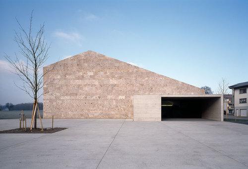 2b architectes, nb.arch — La Tuffière Cultural and Municipal Centre