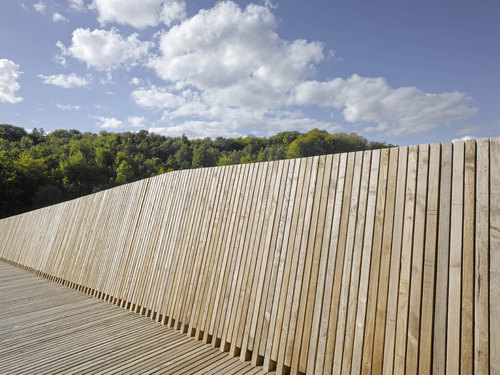 2b architectes — La Sallaz Footbridge
