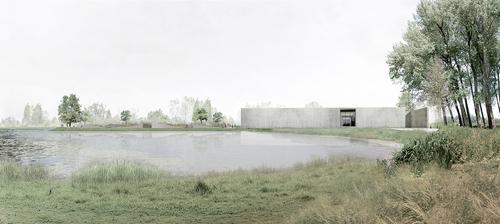 KAAN Architecten — Crematorium Aalst