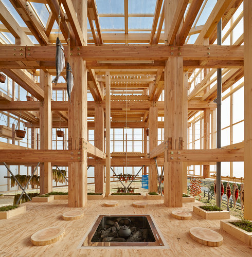 Kengo Kuma & Associates, UC Berkeley CED graduate team — Nest We Grow Memu Meadows