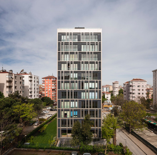 IND [Inter.National.Design], Arman Akdogan, Felix Madrazo, Alejandro Gonzalez Perez, giorgio renzi — Arkadia - Apartment Building