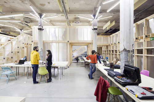 OSS - Office for Strategic Spaces — Cultural Factory Matadero Madrid. Creative Hub