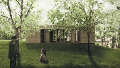 """Martino De Rossi Architetto — """"Meno di 31"""": residenza di 80 metri quadrati"""