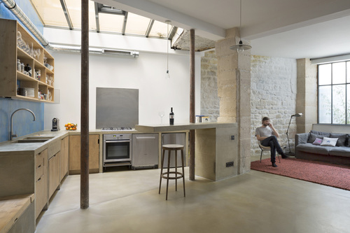 Maxime Jansens architecte — Loft in Paris