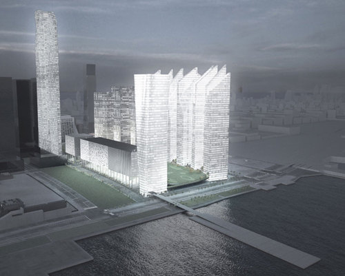 Steven Holl Architects — The Hudson Yards