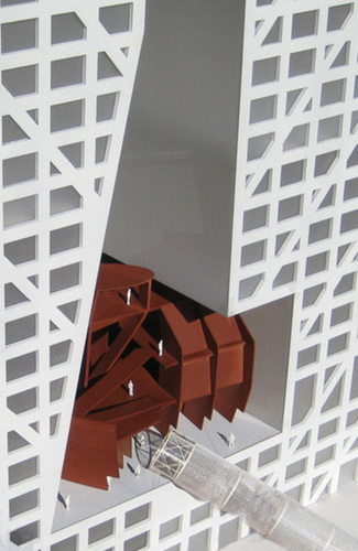 Steven Holl Architects — «sliced Porosity Block»