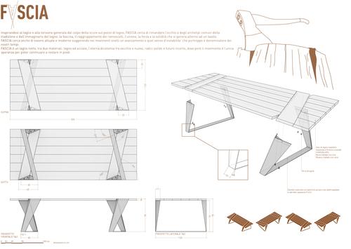 "Simbiosi Architects, Marco Caprani — Table ""F-ascia"""